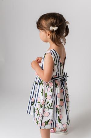 Rochie cu imprimeu fructe2
