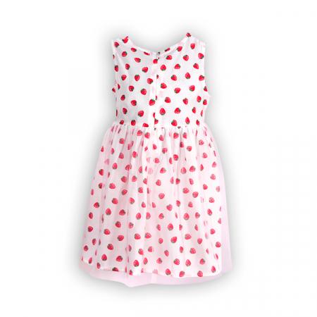 Rochie cu imprimeu fructe si tulle [1]