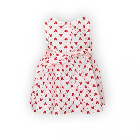 Rochie cu imprimeu rosu5