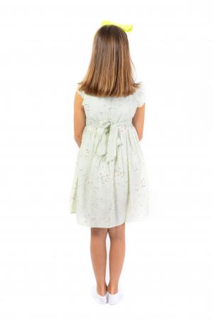 Rochie cu textura si imprimeu3