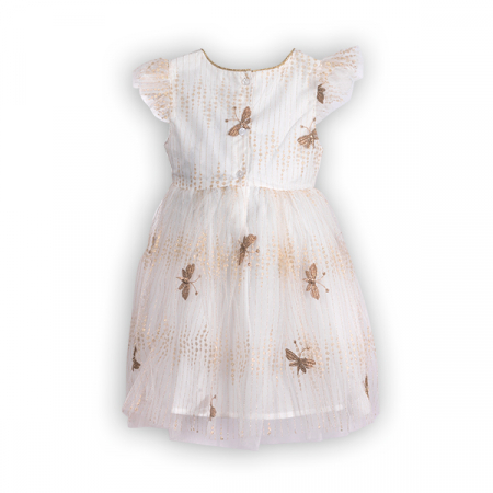 Rochie cu tulle si broderie1