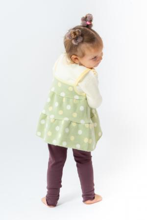 Pulover tip rochita din tricot cu buline [4]