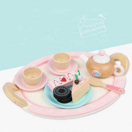 Set de dulciuri și ceai din lemn -12 piese3