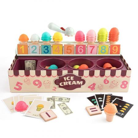 Set de joaca - cutia cu inghetata - 87 piese0