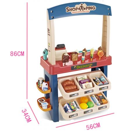 Set de joaca - magazinul de inghetata - 55 piese1