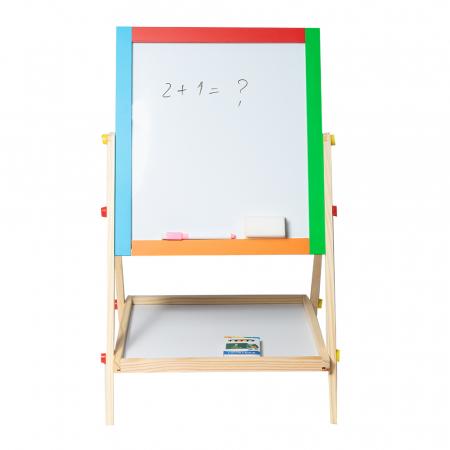 Tabla magnetica multifunctionala din lemn [0]