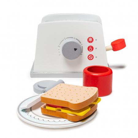 Toaster din lemn cu accesorii0