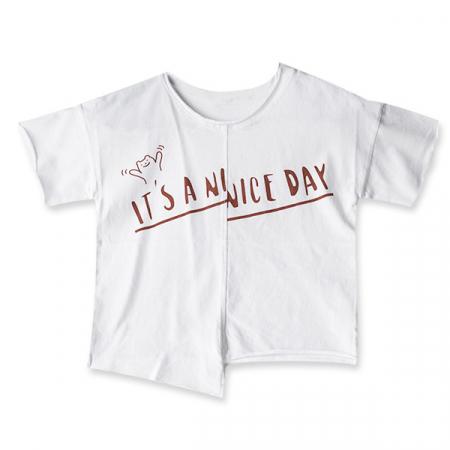 Tricou alb cu text3