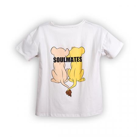 Tricou cu imprimeu animale1