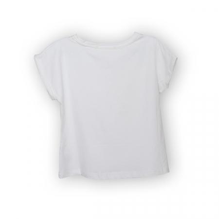 Tricou cu imprimeu floral [5]