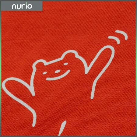 Tricou portocaliu cu text4