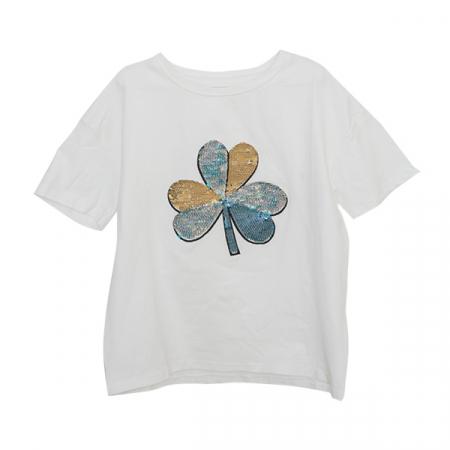Tricou cu paiete reversibile [5]
