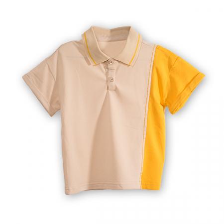 Tricou polo cu buline colorate [4]