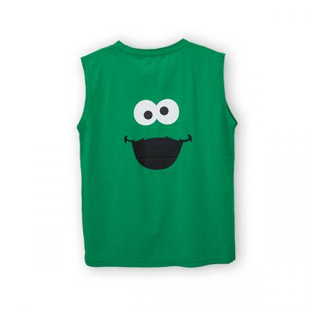 Tricou verde cu imprimeu1