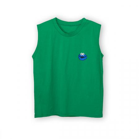 Tricou verde cu imprimeu0