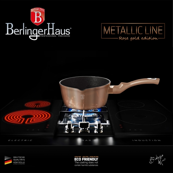 Cratita 16 cm Rose Gold (Cupru) Metalic Line Berlinger Haus BH 1513N 4