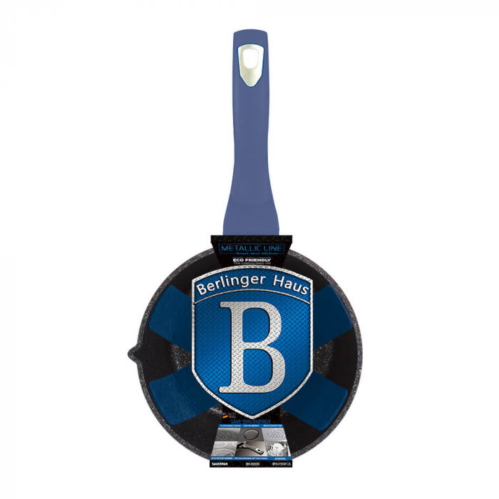 Cratita 16 cm Metallic Line Royal Blue Edition Berlinger Haus BH 1650N 2