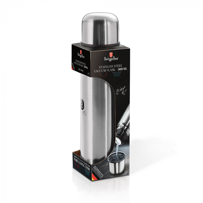 Termos 0.5 L Black Silver Collection Berlinger Haus BH 1981 0