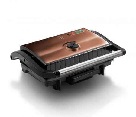 Grill electric Rose Gold Metallic Collection Berlinger Haus BH 9061 [0]
