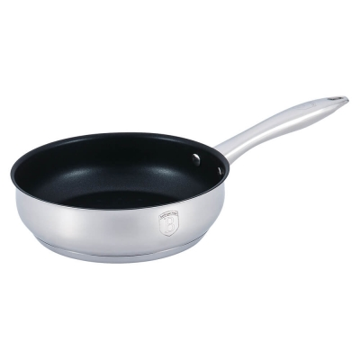 Tigaie non stick otel inoxidabil 20 cm Silver Belly Berlinger Haus BH 13940
