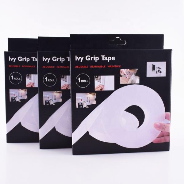 Banda transparenta dublu adeziva Ivy Grip, 1 metru 3