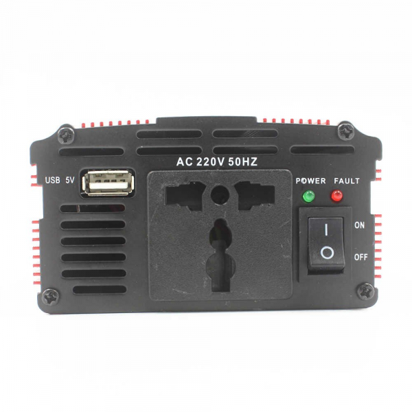 Invertor auto de tensiune 12V-220V, Lairun, 800 W si putere continua 575 Watt 3