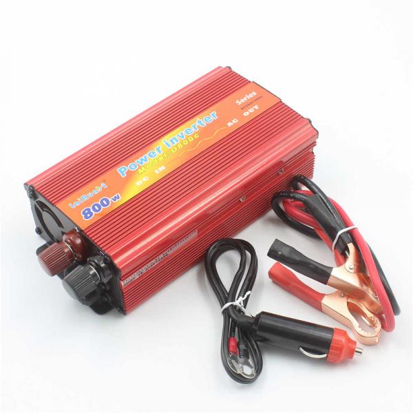 Invertor auto de tensiune 12V-220V, Lairun, 800 W si putere continua 575 Watt 2