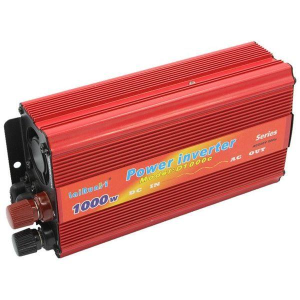 Invertor tensiune 12V-220V Lairun cu 1000 W si putere continua 665 Watt [0]