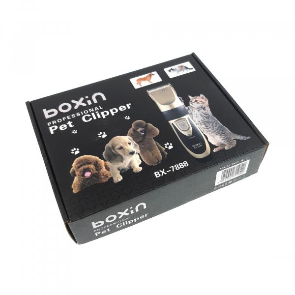 Masina de tuns animale cu acumulator si accesorii incluse Boxin BX-7888 3