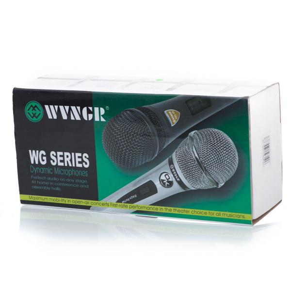 Microfon dinamic cu fir profesional WVNGR WG-38 3