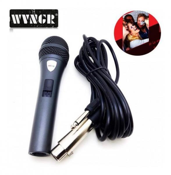 Microfon dinamic cu fir profesional WVNGR WG-38 2