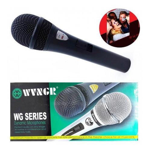 Microfon dinamic cu fir profesional WVNGR WG-38 1