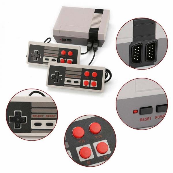Consola de jocuri Retro pe televizor, cu 620 de jocuri incluse [5]