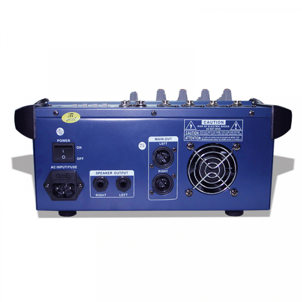 Mixer profesional cu amplificare 200W si 4 canale PMX402D-USB [2]