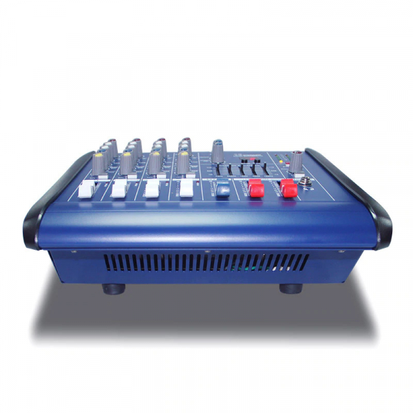 Mixer profesional cu amplificare 200W si 4 canale PMX402D-USB 3