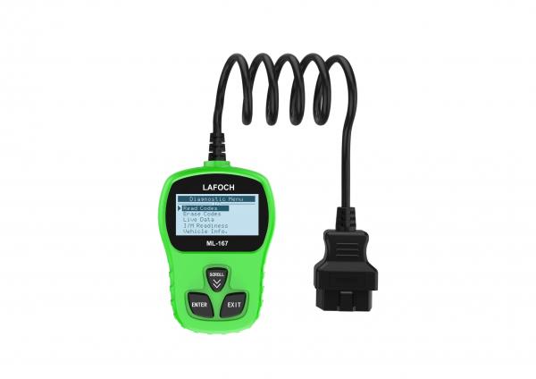 Tester diagnoza cu interfata auto profesional si universal OBD2 Lafoch ML-167 [0]