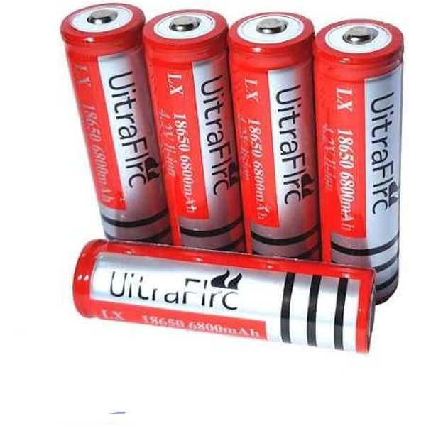Acumulator 18650 6800 mAh 4.2V Li-ion gen UltraFire reincarcabil 0