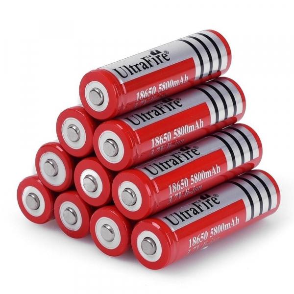 Acumulator Li-Ion UltraFire 18650 3.7 V, 5800 mAh [3]