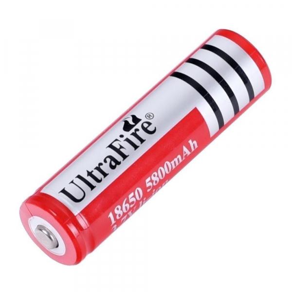 Acumulator Li-Ion UltraFire 18650 3.7 V, 5800 mAh [0]