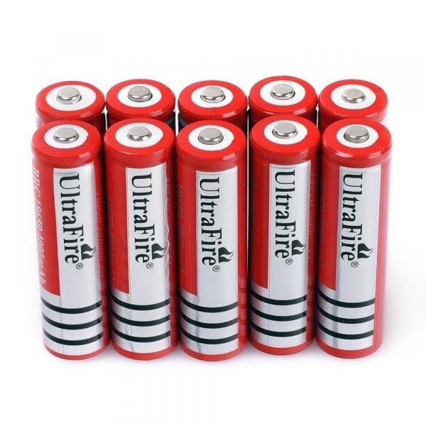 Acumulator Li-Ion UltraFire 18650 3.7 V, 5800 mAh [1]