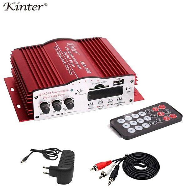 Amplificator audio auto 2 canale Kinter MA-100 0