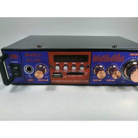 Amplificator audio tip statie BT-798 cu Bluetooth, USB si suport SD 2