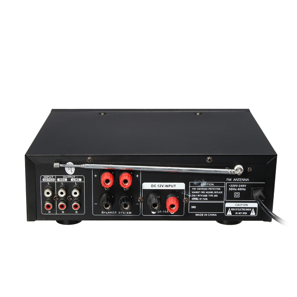 Amplificator profesional tip statie TeLi BT-266,cu Bluetooth MP3 Player si Radio FM 1