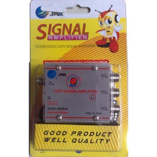 Amplificator semnal cablu TV 3 canale 1