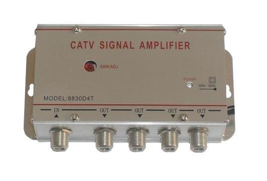 Amplificator semnal tv terestru cu 4 canale 0