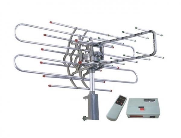 Antena rotativa TV Sonett cu telecomanda si amplificator SNA-950TG 0