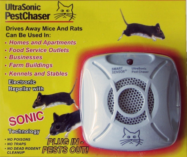 Aparat cu ultrasunete antirozatoare UltraSonic Pest Chaser [0]