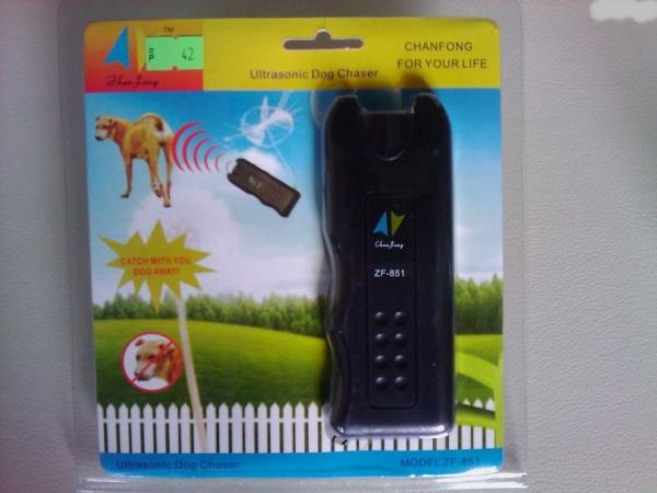 Aparat cu ultrasunete impotriva cainilor agresivi, Dog Chaser ZF-851 [0]