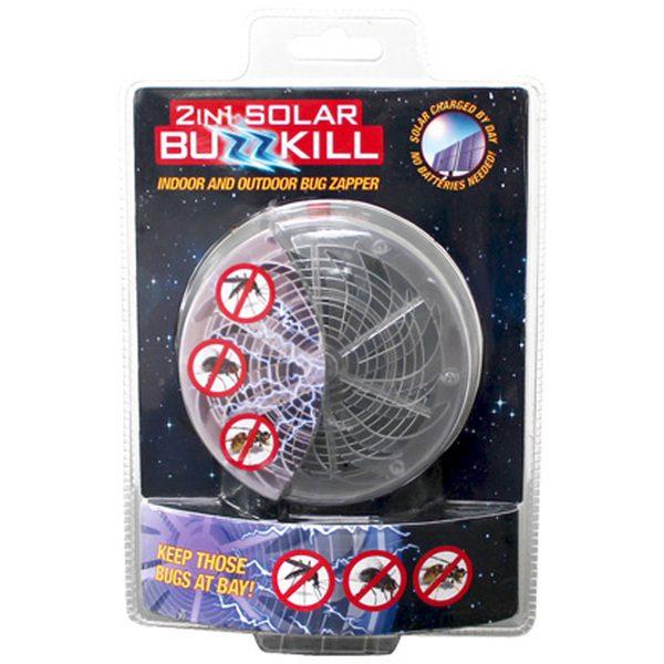 Aparat cu ultraviolete pentru insecte 2 in 1 Solar Buzzkill [1]