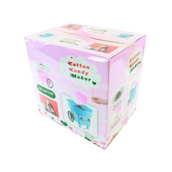 Aparat de facut vata de zahar pe bat Cotton Candy Maker Roz 4